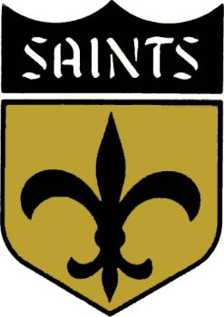 New Orleans Saints Old Logo