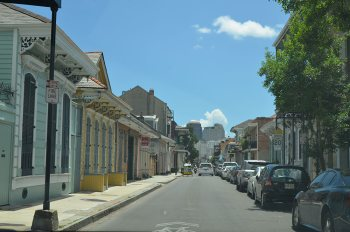 French Quarter in the summer