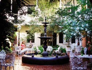 Hotel Provincial - New Orleans courtyard